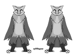 {F2U} Horned Owl