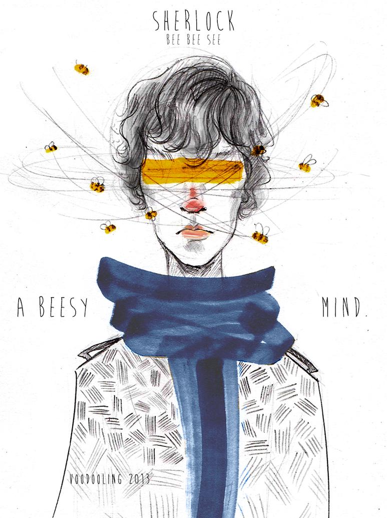 Bee Bee See Sherlock's Beesy Mind by VooDooling