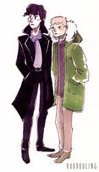 Sherlock Doodle 1