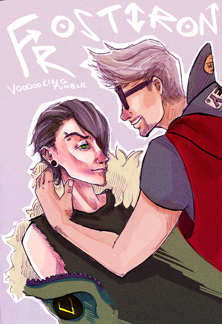 Teenage!Frostiron by VooDooling