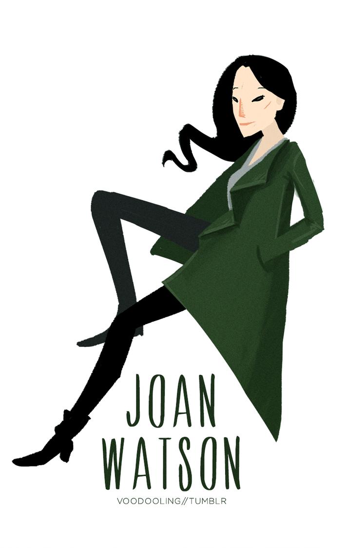 Joan Watson by VooDooling