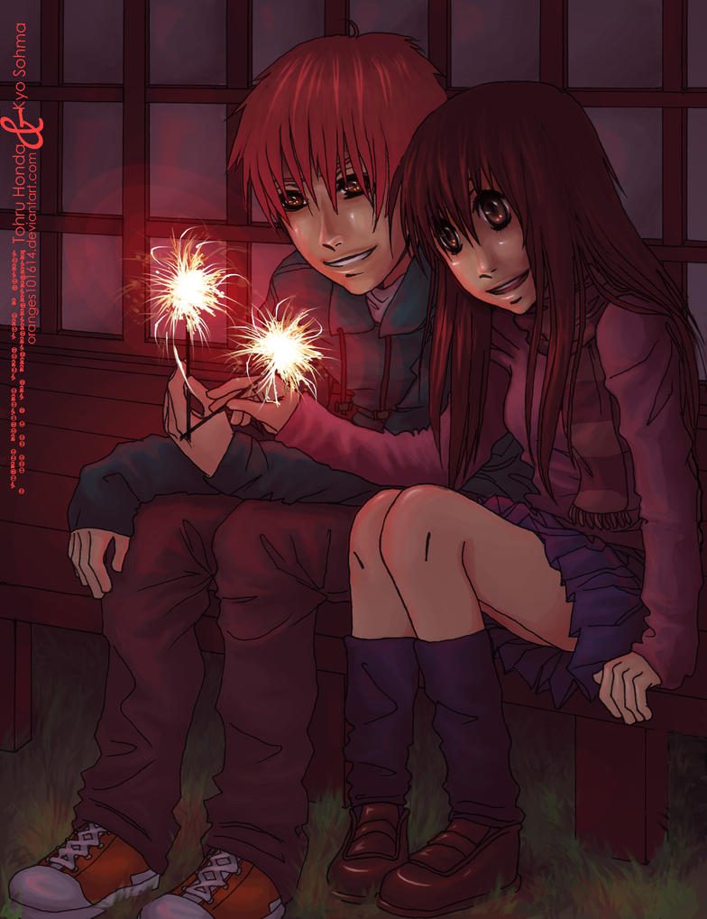 Fruits Basket: Kyo x Tohru by oranges101614