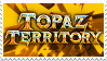 DQ: Topaz Territory Stamp by Chipgirl9