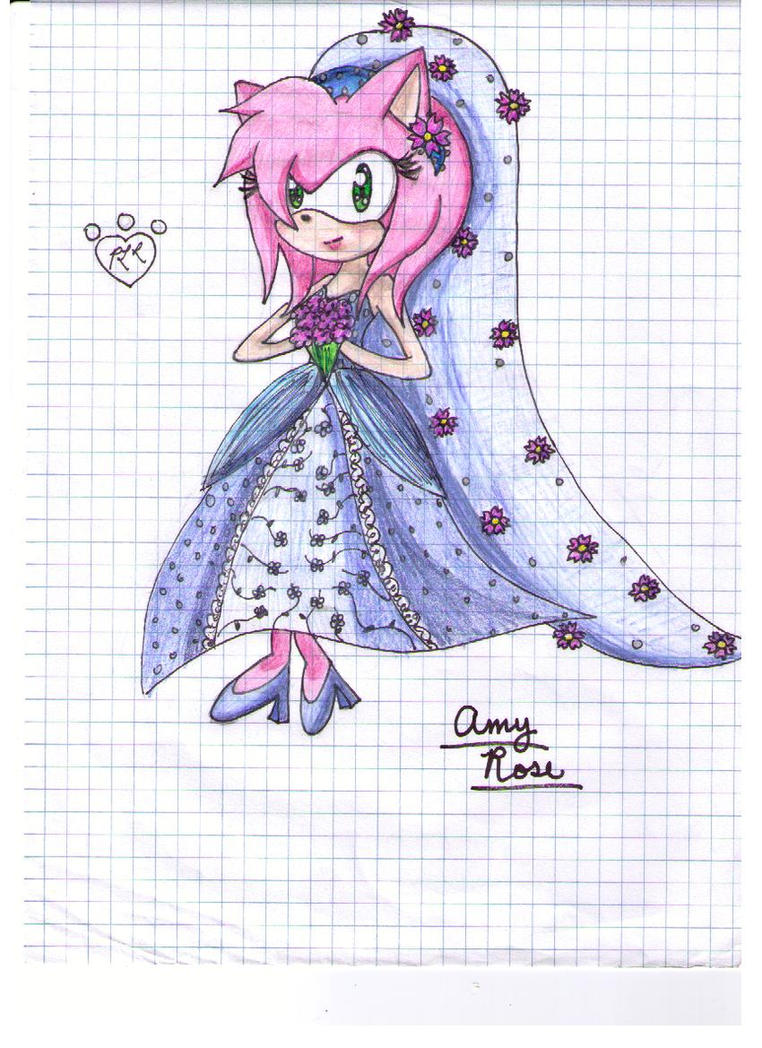 Amy Roses Wedding Dress By Puppyloverlani