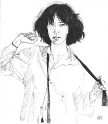 Patti Smith by WildGeese