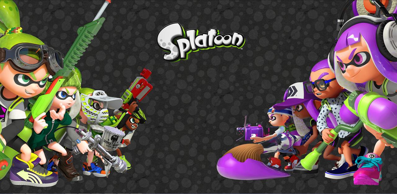 Splatoon Wallpaper by sonictom2