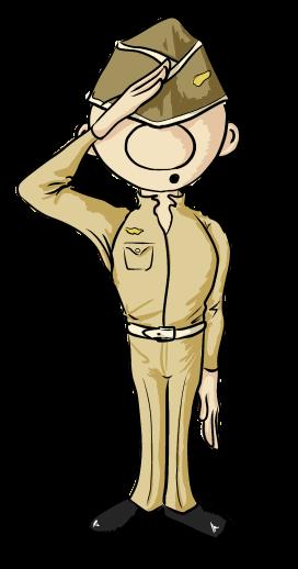 soldier clipart by OrianaCarthen