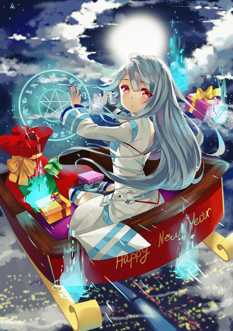 Secret santa claus. by Mariko-chan94
