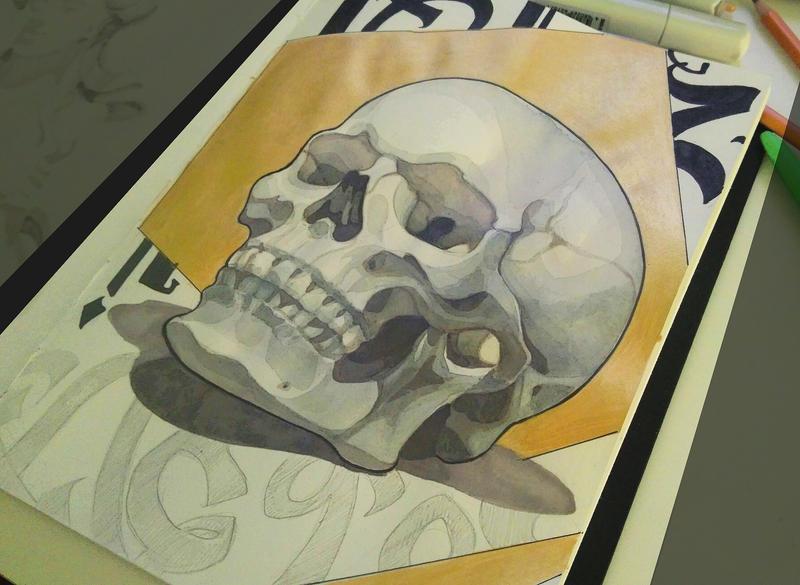 Skull by Mariko-chan94