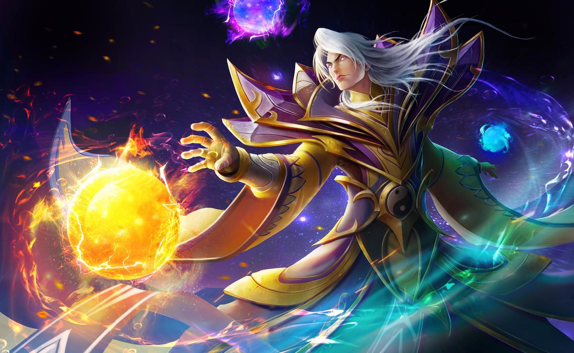 Dota 2 Invoker Fan Art Chinese Custom By Shenlim On Deviantart