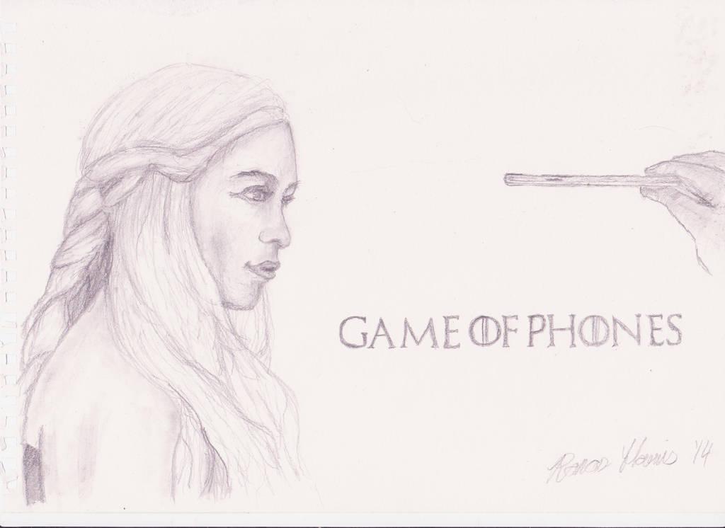 Game of Phones. (Derek Banas competition.) by Apenya7