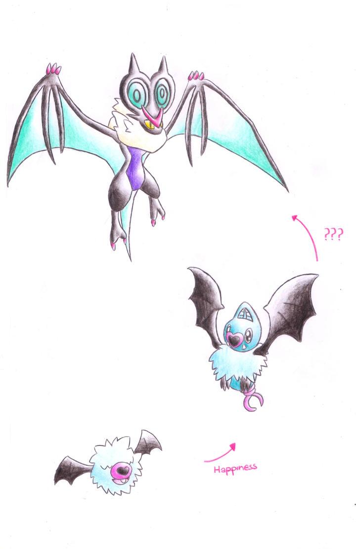 New Pokemon!! Noivern, Swoobat evolution?! by ...  New Pokemon!! N...