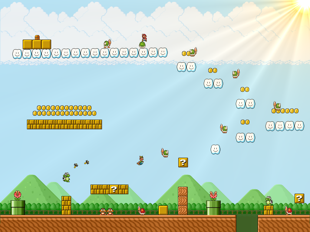 Super Mario Bros 3- Big Island by Metadraxis on DeviantArt