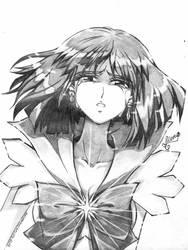 Hotaru Tomoe / Sailor Saturn by Anastasia1312