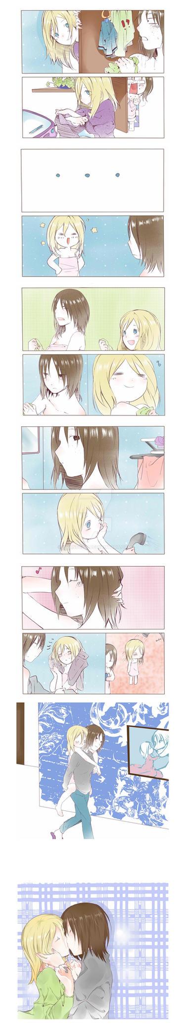 YUMIKURI - short story drawn in 2013 by CRangeaT