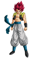 Gogeta Super Saiyan God