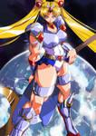 Sailor Moon Battle pose