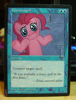 Counterspell - Pinkie Pie by ninthsphere