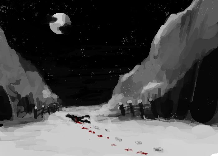 stroll through the snow by ninthsphere