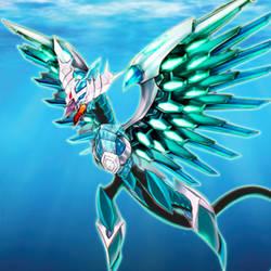 Odd-Eyes Aqua Dragon Image by NeoPhoenixKnight