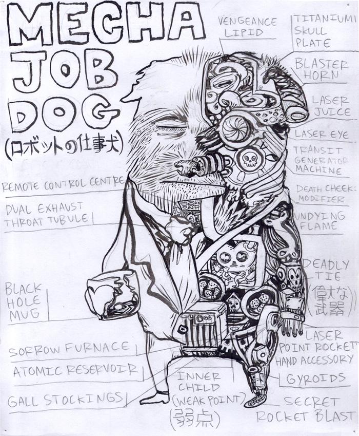 Mecha Job Dog Anatomy Slide by Fish-man on DeviantArt