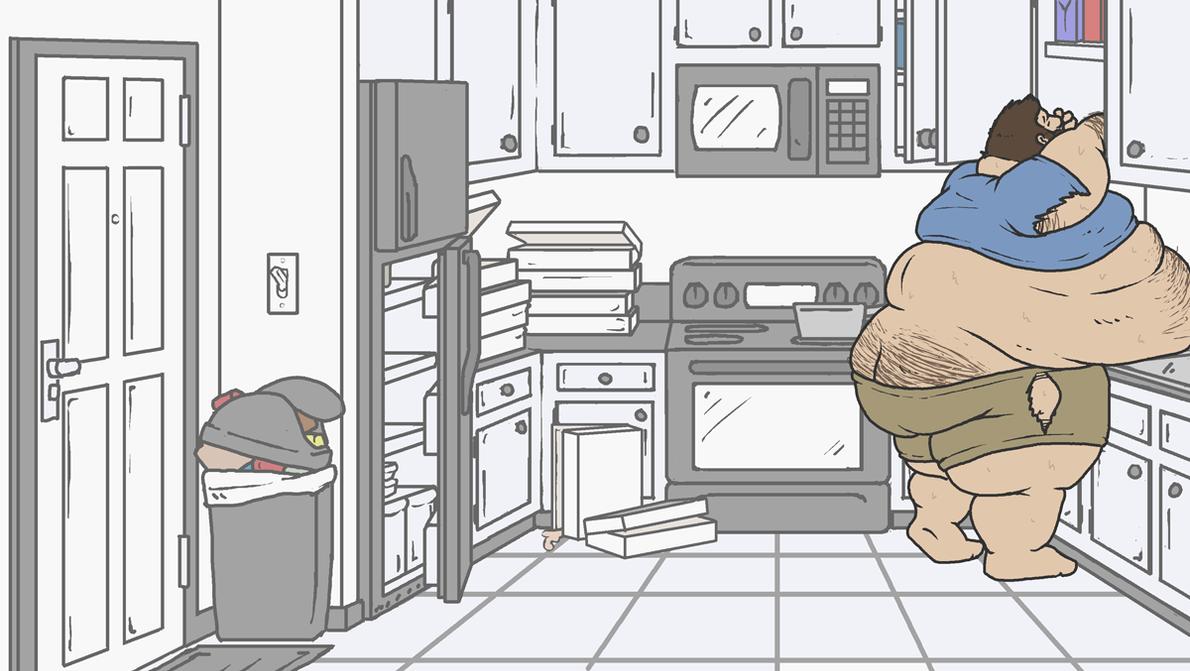 Raiding the Kitchen - 07 by gitbigger
