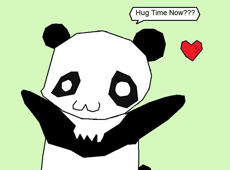 Panda Hug Time By Jerichoburger On Deviantart