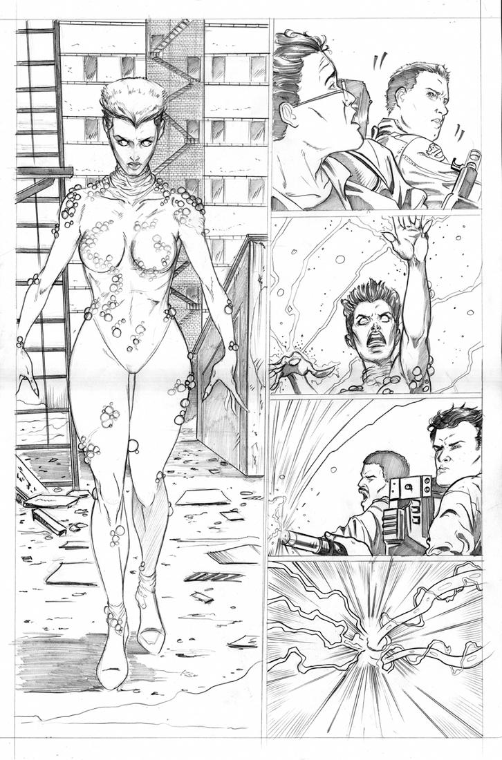 Ghostbusters page 3 by martheus