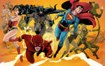 Justice League Finished colors