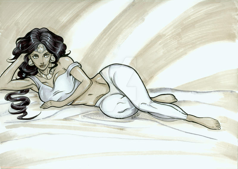 Princess Jasmine by martheus