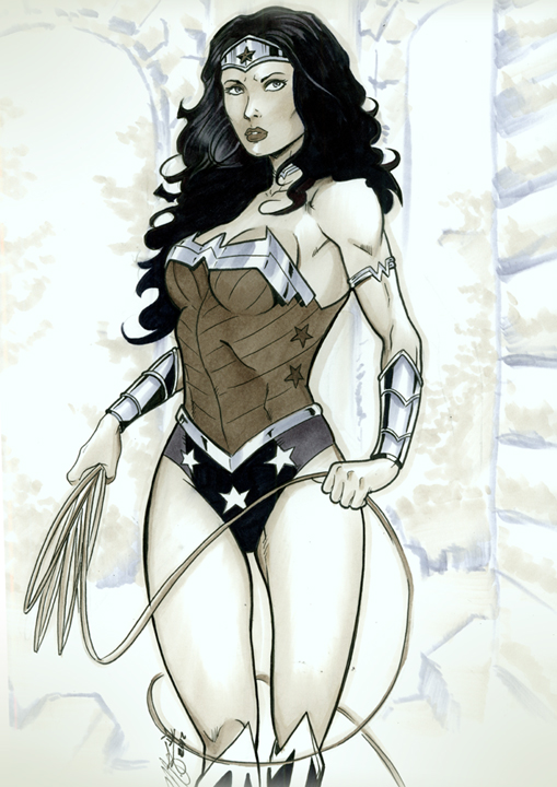 New 52 Wonder Woman Commission by martheus