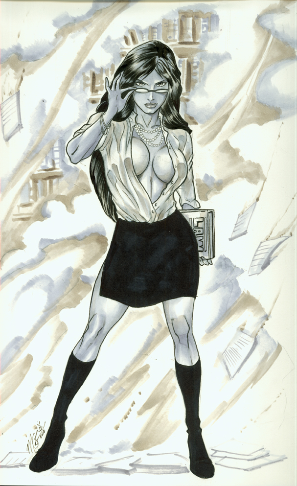 She-Hulk Commission by martheus