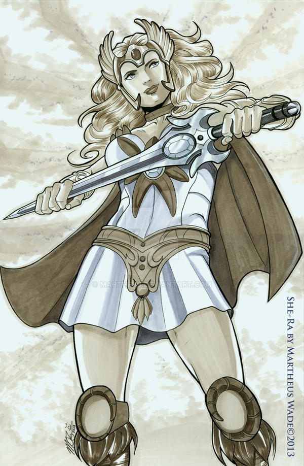 She-Ra by Martheus Wade by martheus
