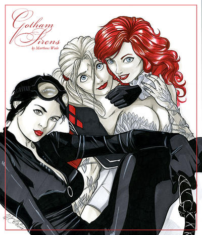 Gotham Sirens by martheus