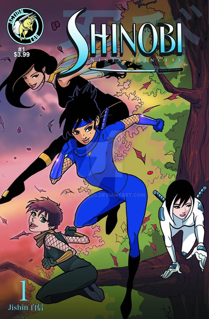 Shinobi Ninja Princess Cover by martheus