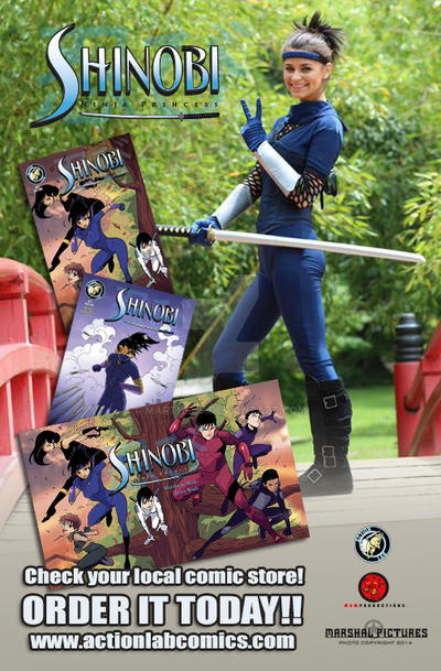 Shinobi: Ninja Princess issue 1 by martheus