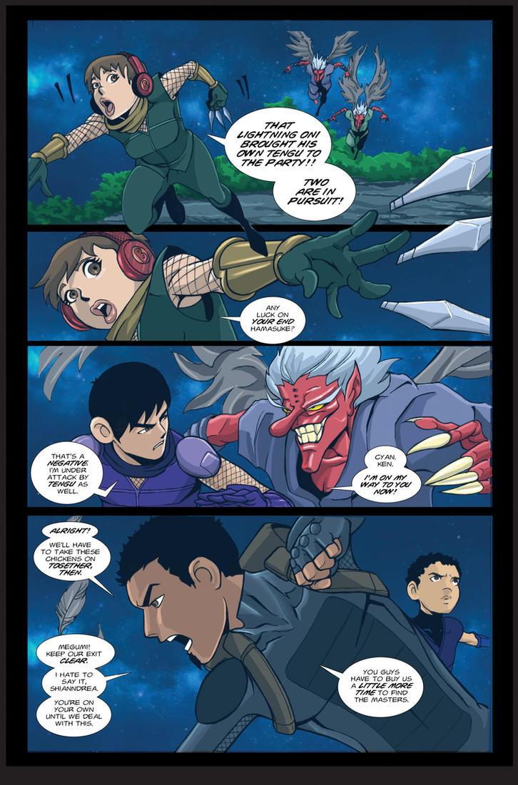 Tengu Attack! by martheus