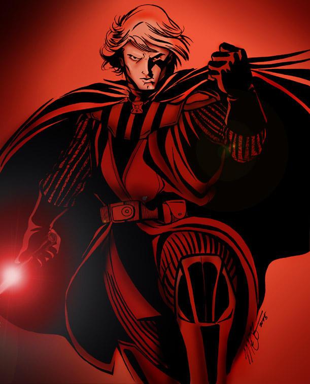 Emperor Vader by martheus