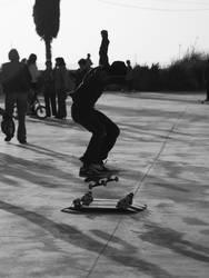 skate jump....