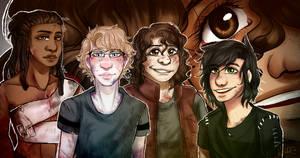 Matthew, Erick, Trevor, Angel and Sam