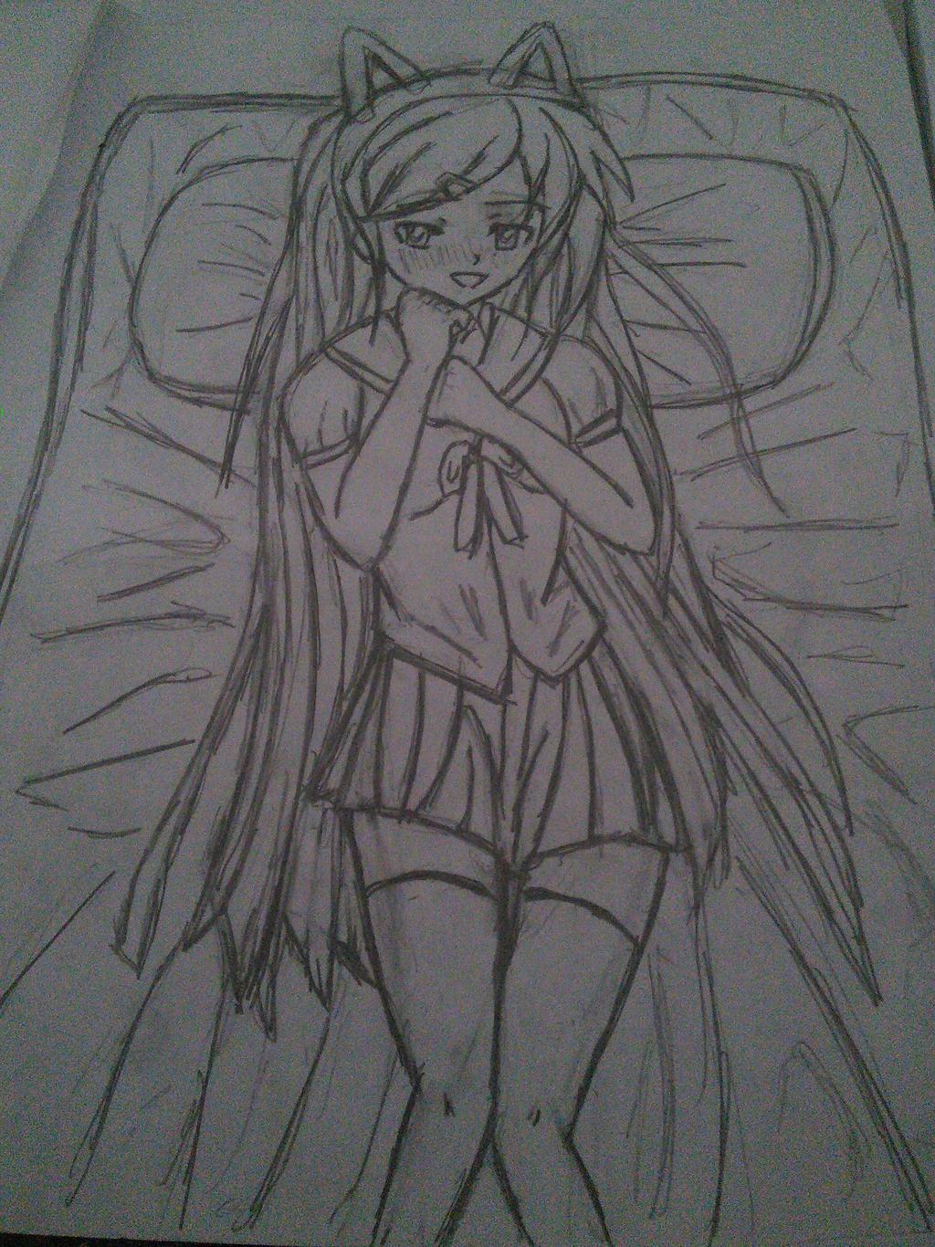 think anime girls