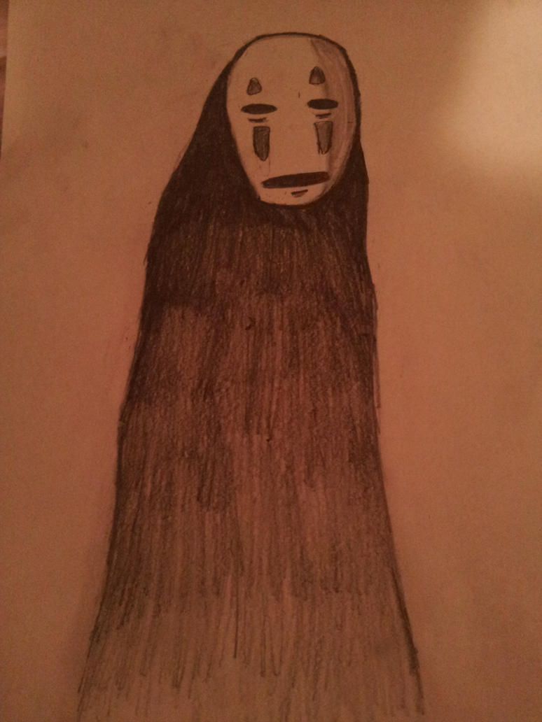 No Face [Spirited away] by KillerAssassin808