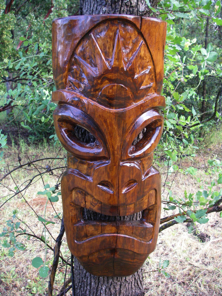 Hawaiian Totem Pole Craft