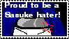 Sasuke-hater stamp by mitsuki-kunoichi