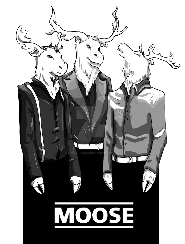 Moose of Cydonia by mitsuki-kunoichi