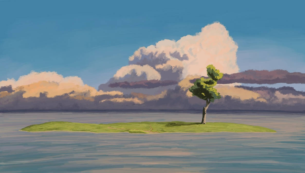 Background Study Spirited Away By Martulen On Deviantart