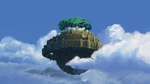 Background Study - Castle in the Sky