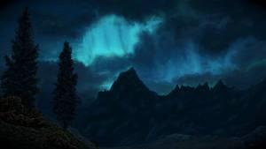 Skyrim inspired painting
