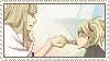Shinji and Hiyori - Stamp by aries95a