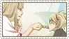 Shinji and Hiyori - Stamp by aries95a